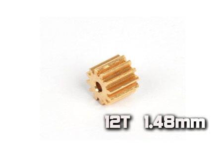 Xtreme Production 130X Motorritzel 12Z M0,4 Welle Ø1,5mm