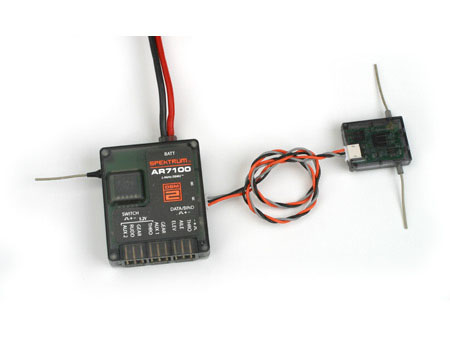 Spektrum AR7100 DSM2 7 Kanal Empfänger