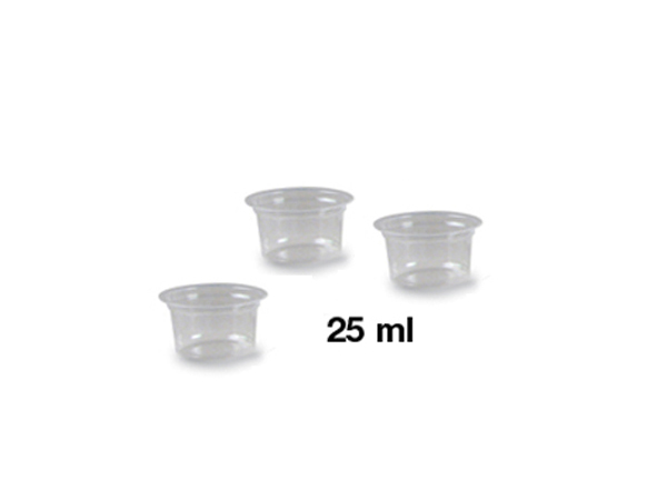 Mixing cups of plastic (25ml) / 10 PCS