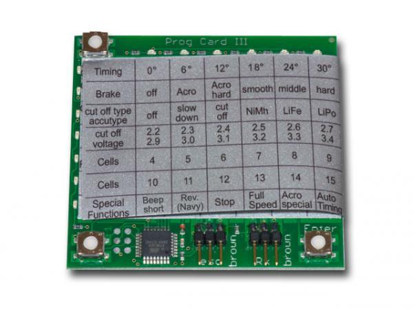 YGE Programmierkarte