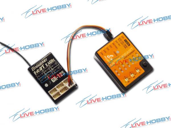 BEASTX Microbeast + Graupner GR-12S Empfänger