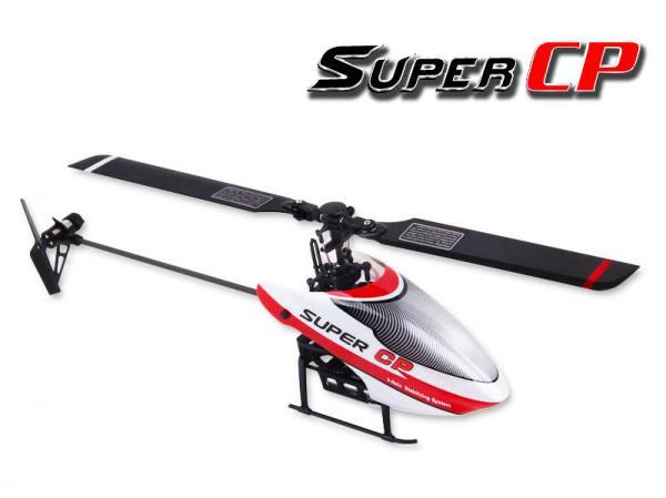 Walkera SUPER CP Flybarless Micro 3D Heli DEVO BNF (ohne Sender)