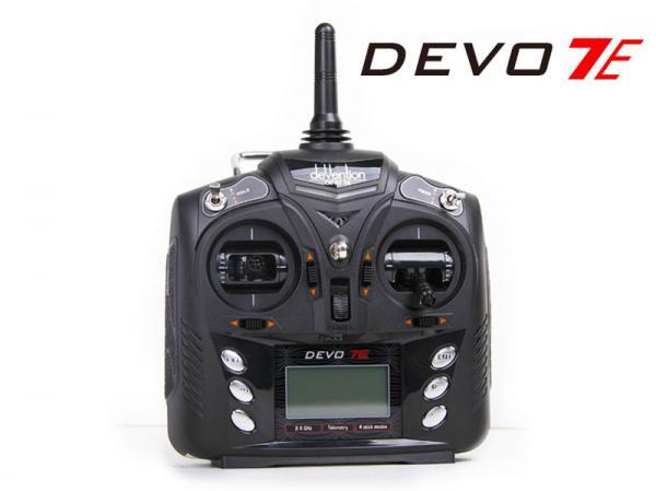 deVention DEVO 7E Telemetrie 7Kanal 2,4GHZ Sender
