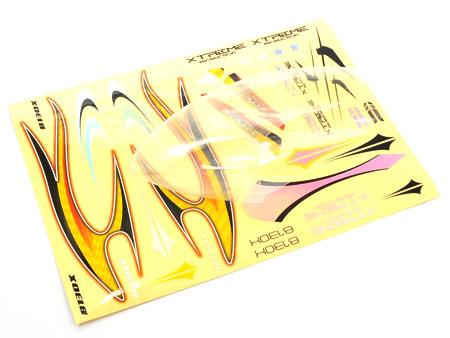 Xtreme Production 130X Haube transparent