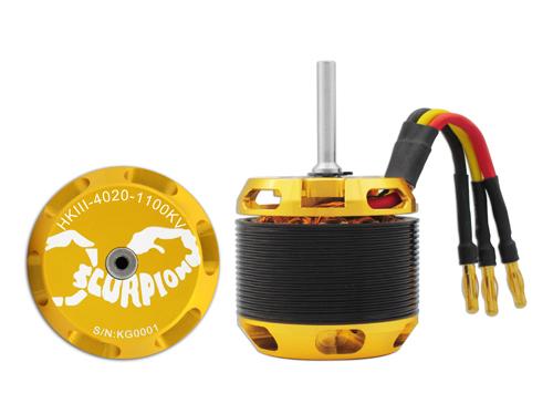 Scorpion HKIII-4020-1100KV Brushless Motor