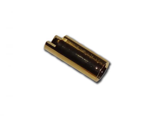 Goldkontakt Buchse 5,5mm (abgeflacht)