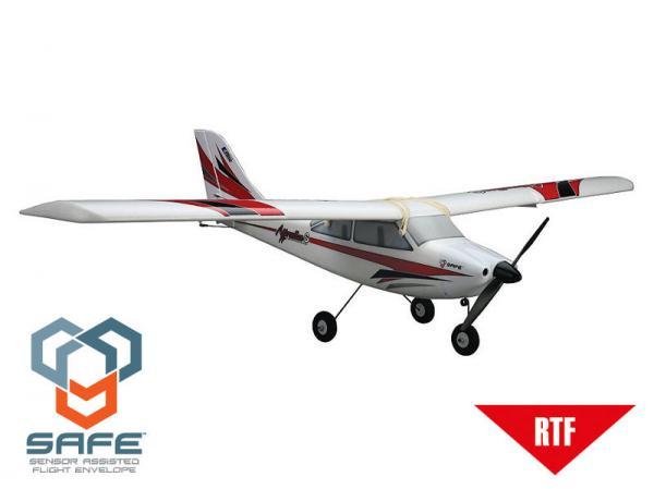 E-flite Apprentice S 15e RTF mit DX5e (Mode 1) und SAFE Technologie