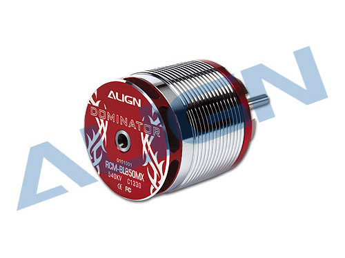 Align Brushless Motor 540KV RCM-BL850MX (50mm Ø6mm Welle) # HML85M01