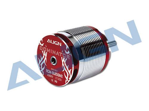 Align Brushless Motor 490KV RCM-BL850MX (50mm Ø6mm Welle) # HML85M03