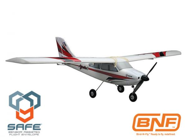 E-flite Apprentice S 15e BNF mit SAFE Technologie