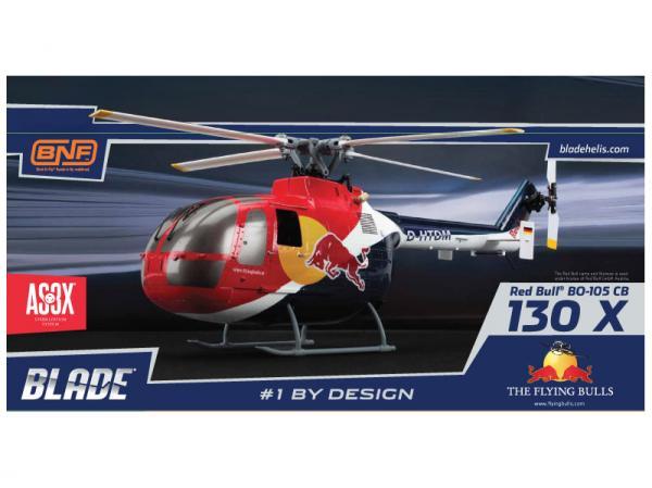 Blade Red Bull BO-105 CB 130 X BNF