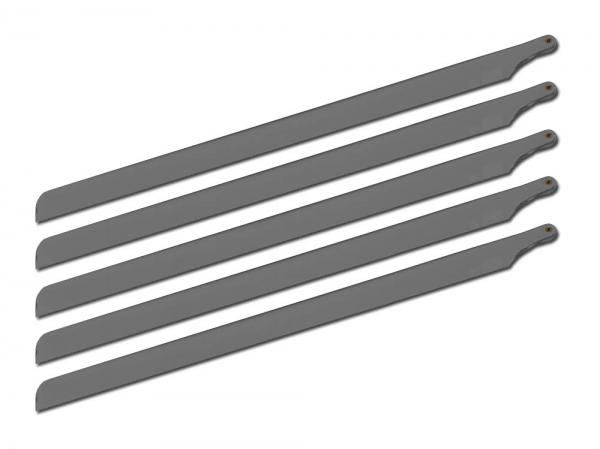 SpinBlades 5 Blatt Satz 435mm MATT GREY SCALE