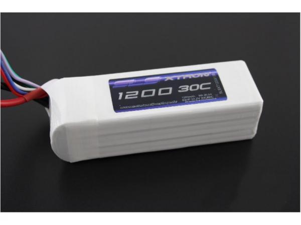 SLS XTRON 1200mAh 6S1P 22,2V 30C/60C # SLSXT12006130