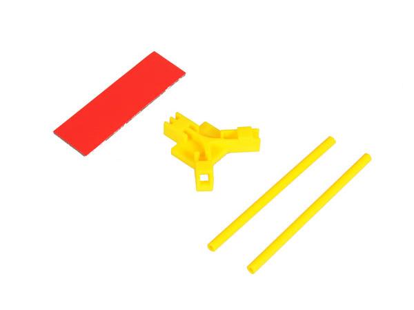 Mikado Antennenhalter flach, gelb