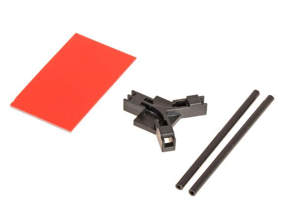Mikado Antennenhalter flach, schwarz