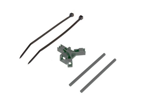Mikado Antennenhalter Heckrohr, grau
