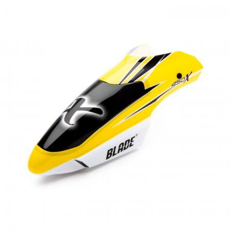 Blade 450X Kabinenhaube gelb