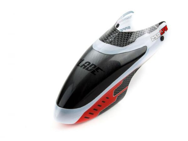 Blade 250 CFX Stock Canopy Red