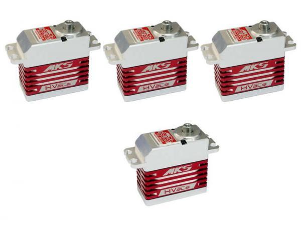 MKS HV Digital Servo Brushless combo 3x HBL960 und 1x HBL990