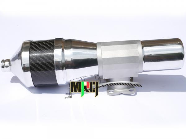 MRCI OS MAX 105 Muffler Black Carbon # C1319N