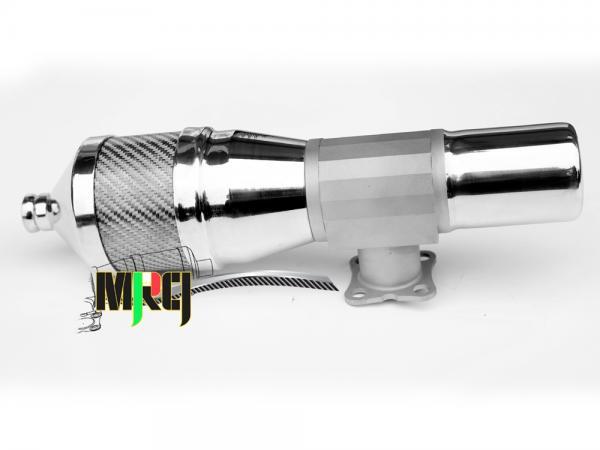 MRCI OS MAX 105 Hochleistungsschalldämpfer Carbon grau