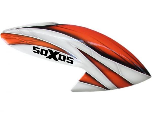 soXos Kabinenhaube Orange/ Grau