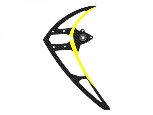 Mikado LOGO 550 Carbon-Seitenleitwerk mit Kugellager, gelb
