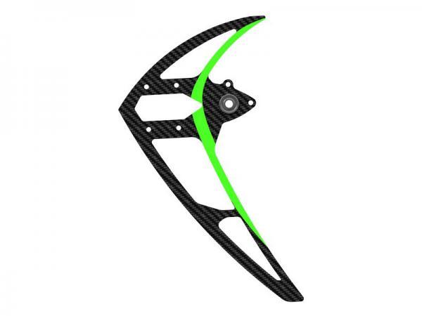 Mikado LOGO 550 Carbon-Seitenleitwerk mit Kugellager, grün