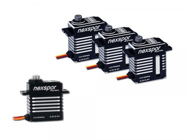 NEXSPOR Heli Servo Set 3x CLS2310S  V2 / 1x CLS2305T