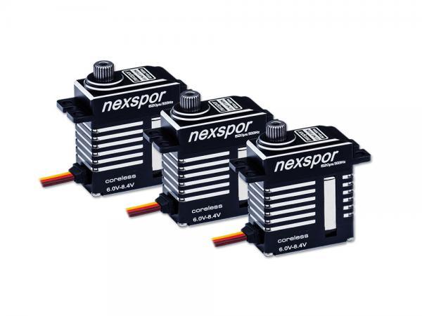 NEXSPOR Heli Servo Set 3x CLS2310S V2