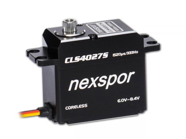 NEXSPOR CLS4027S Coreless HV Digital Servo (TS)