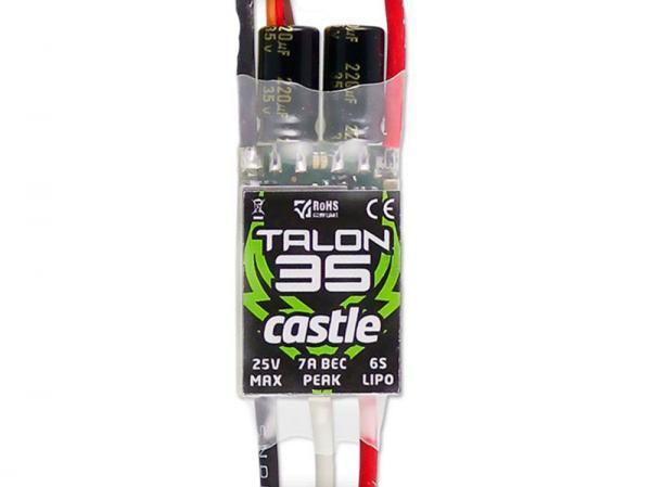 Castle Talon Regler 35A 2-6S 5A BEC