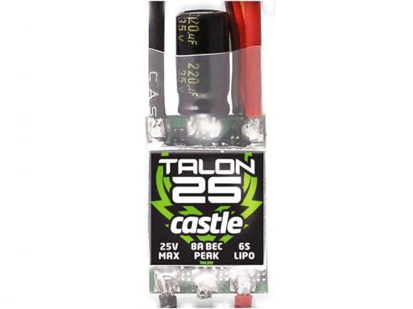 Castle Talon Regler 25A 2-6S 3A BEC