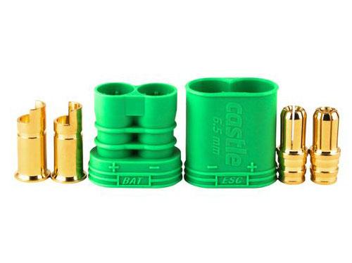 Castle 6.5mm Goldstecker Set