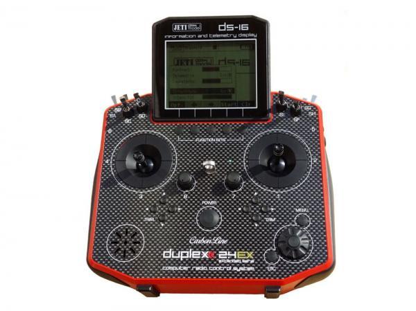 Jeti Hand-Sender DS-16 Carbonline Multimode Red Edition 16 Kanal