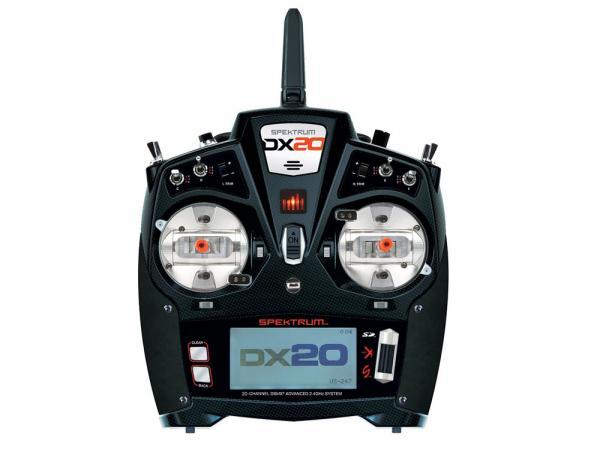 Spektrum DX20 Handsender 20 Kanal DSMX mit AR9020