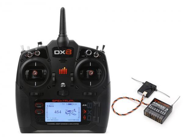 Spektrum DX8 Generation 2 8 Kanal Fernsteuerung DSMX mit AR8000