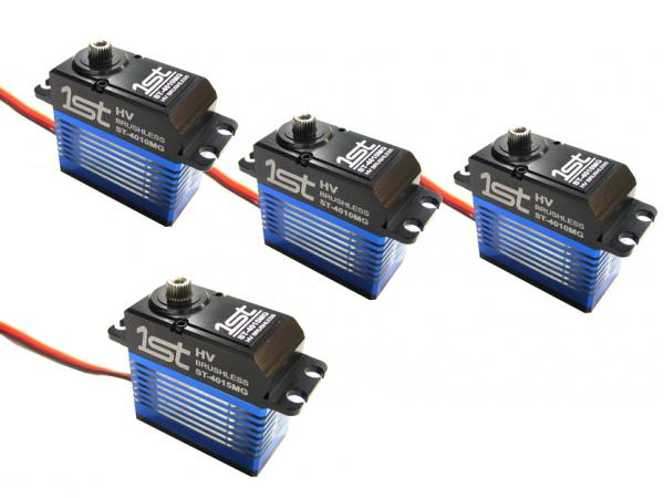 1st Heli-Brushless Servo-Set 3x ST-4010MG / 1x ST-4015MG
