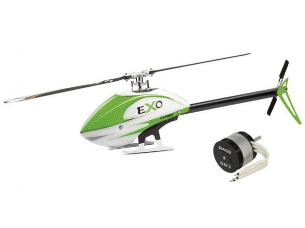 Compass EXO 500 with Motor and CF Rotorblades - Green