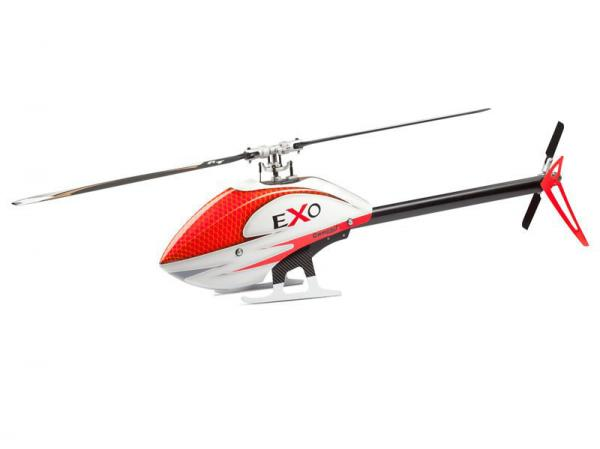 Compass EXO 500 with CF Rotorblades - Red