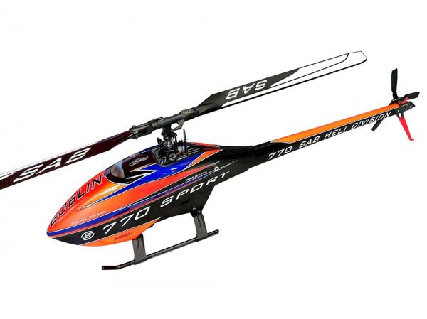 SAB Goblin 770 Sport with Rotorblades