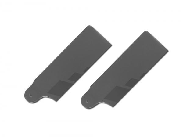 SpinBlades matt grey scale Halbsymmetrisches Heckrotorblatt 105 mm