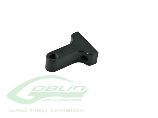 SAB Goblin 630 / 700 / 770 / Competition / Speed Heckumlenkungshebel Halterung Black Edition