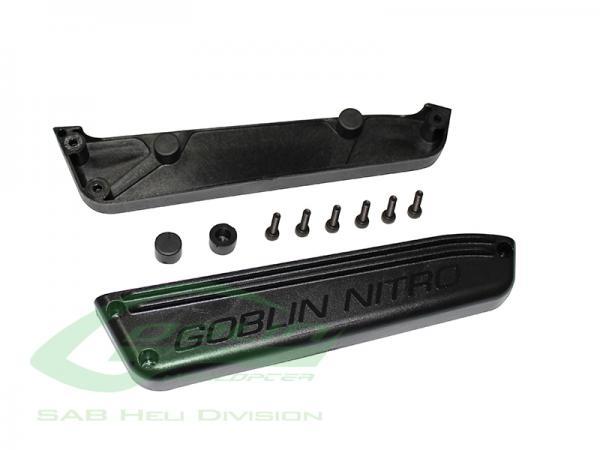 SAB Goblin Black Nitro Kunststoff Tankhalter