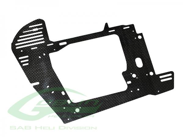 SAB Goblin Black Nitro Carbon Rahmenplatte