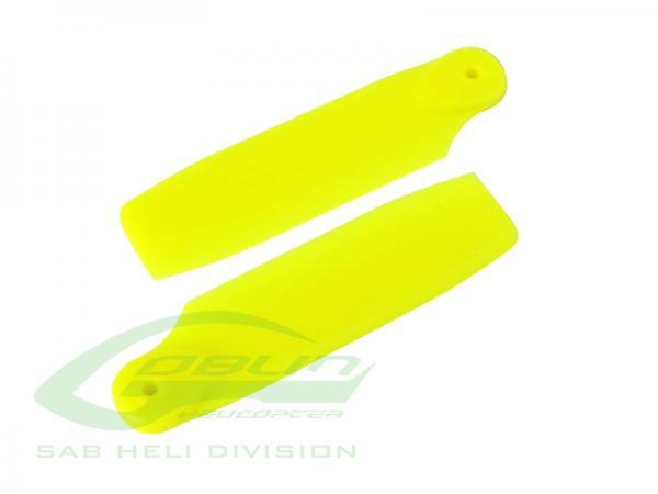 SAB Goblin Fireball Heckrotorblätter 50mm gelb