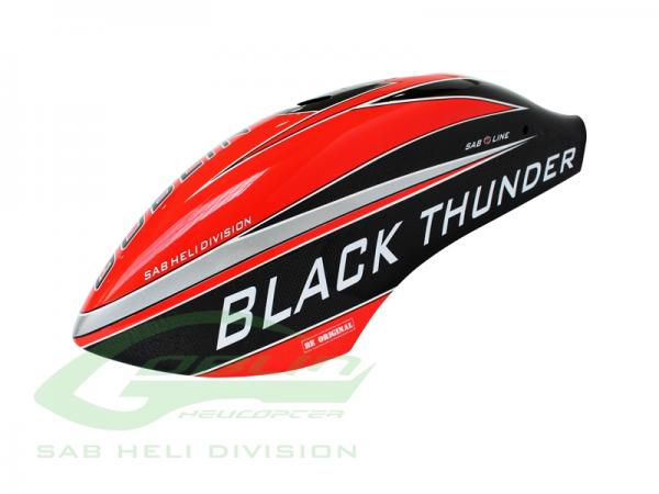 SAB Goblin Thunder T Canomod Airbrush Haube rot