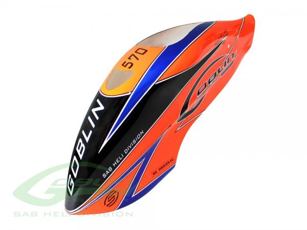 SAB Goblin 570 Sport Haube orange # H0965-S