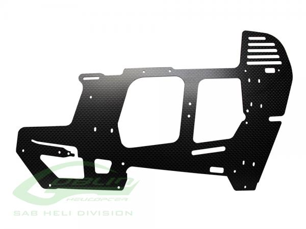 SAB Goblin 570 Sport Carbon Rahmenplatte # H0967-S
