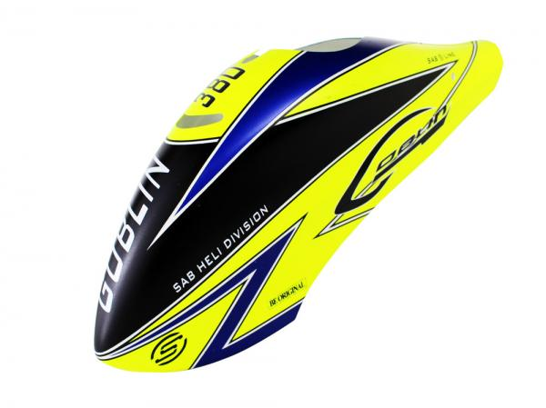 SAB Goblin 380 Sport Airbrush Kabinenhaube gelb